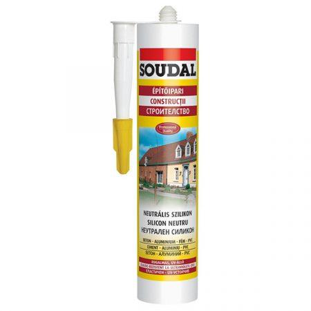 Soudal Neutrális szilikon Fehér 280 ml
