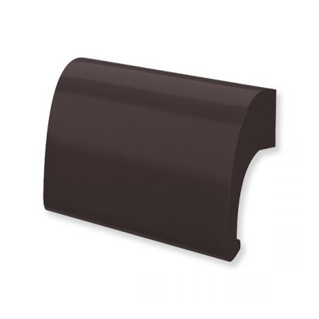 Erkélyajtó fogantyú alu barna DELUX