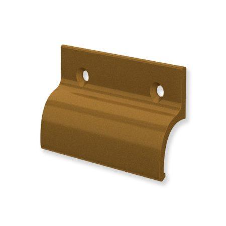Erkélyajtó fogantyú alu bronz határoló nélkül