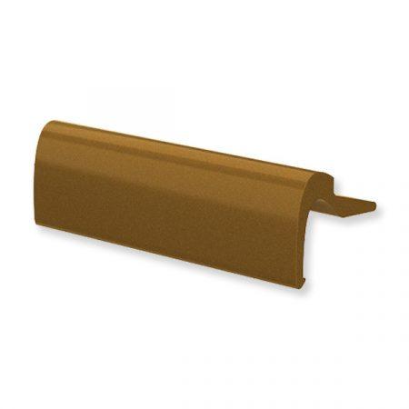 Erkélyajtó fogantyú keskeny alu bronz