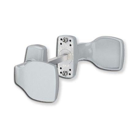 Merkury ajtókilincs FIX gomb-gombos Silver