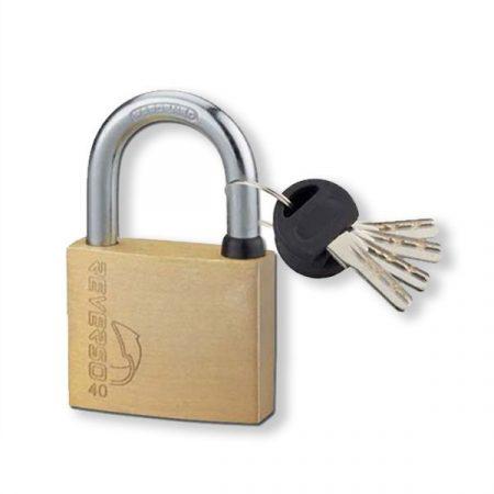 FTH Reverso fúrt kulcsos lakat 40mm (4 kulcs)