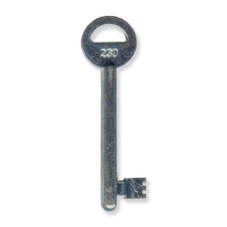 Készkulcs MIDI-8-as zárhoz (230-as kulcs)