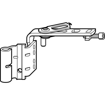Nyílószárnypánt K 12/20-13 bal (Roto NT vasalat)