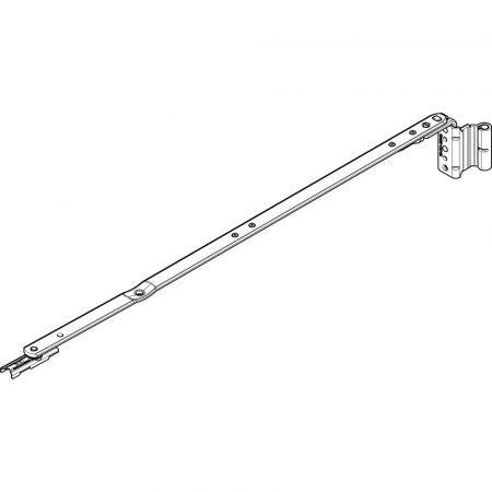 Ollószár K 500 12/20-9 NT bal (Roto NT vasalat)