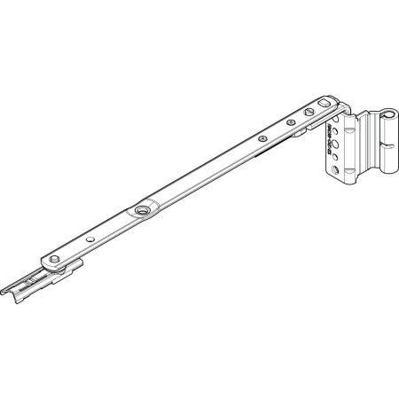 Ollószár K 250 12/20-9 NT bal (Roto NT vasalat)