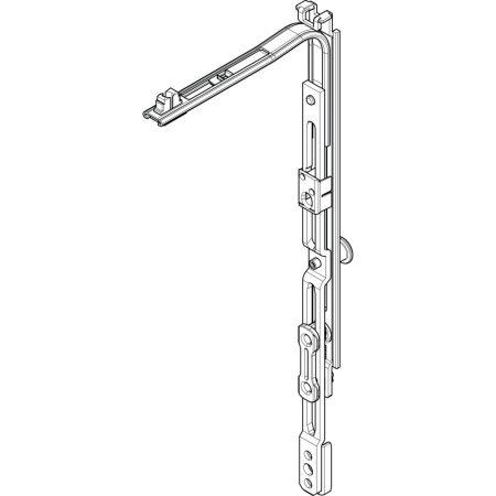 Sarokváltó olló NT 1P (Roto NT vasalat)