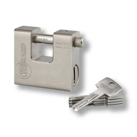 FTH Thor acél U lakat 74 mm 5 kulccsal