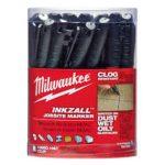 Milwaukee INKZALL™ Jelölő filc Vékony tartós hegyű fekete