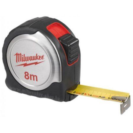 Milwaukee mérőszalag 5m/19 mm ezüst-fekete