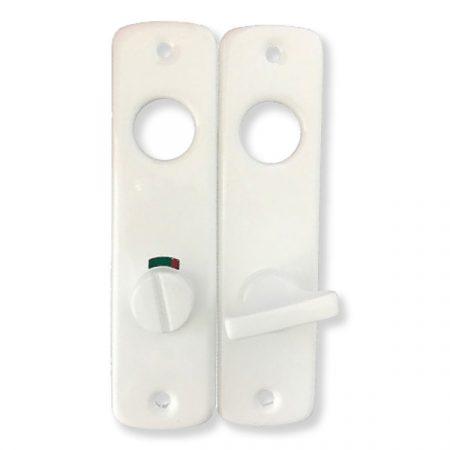 Zárcím toalett 55 mm fehér (GRT)