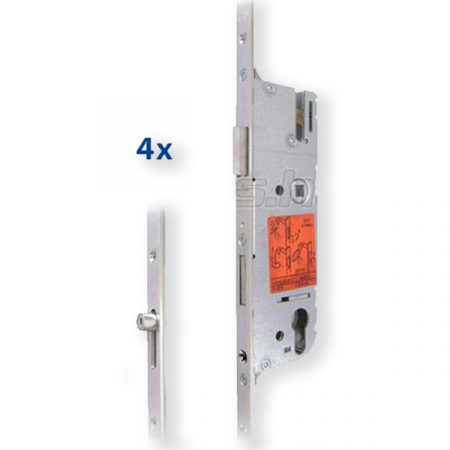 GU Secury R4 40/92/16 kulcsemelés