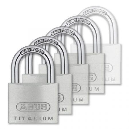 Abus 727TI/50 Titalium lakat (KA) 6514