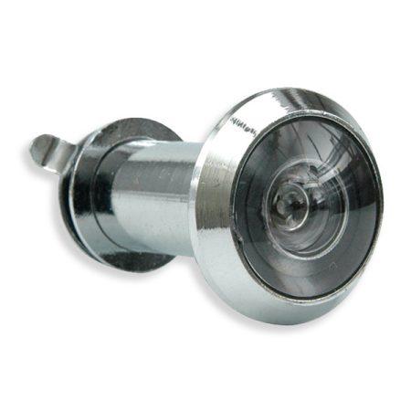 VOREL kitekintő, fedéllel 35-50mm 200° ezüst