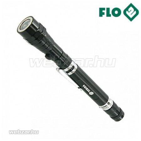 FLO felszedő mágnes LED-es, teleszkópos nyéllel