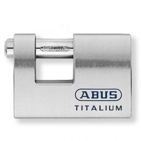 Abus 98TI/70 Titalium tömb lakat fúrt kulccsal