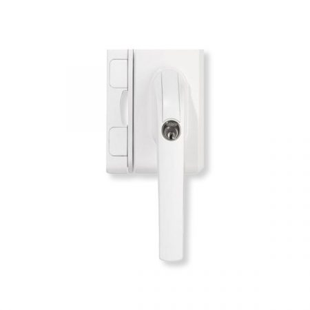 Abus FO500 műa. kilincses biztonsági ablakzár Fehér