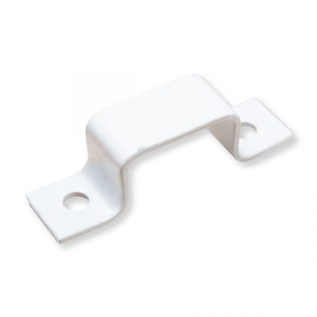 Hevederzár ellendarab 12 Omega 25mm Fehér/Barna