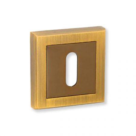 Bussare Classic négyzet rozetta Coffe Black-Mocha BB
