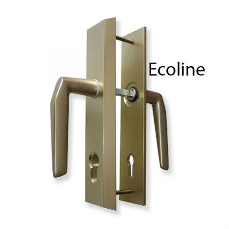 Törésvédő pajzs 90 mm kilincses Ecoline