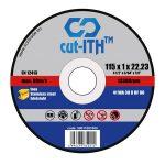 cut-ITH vágókorong WA30RBF inox 115x1,0x22