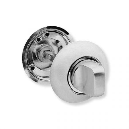 Bussare Comfort kör rozetta Satin Chrome WC