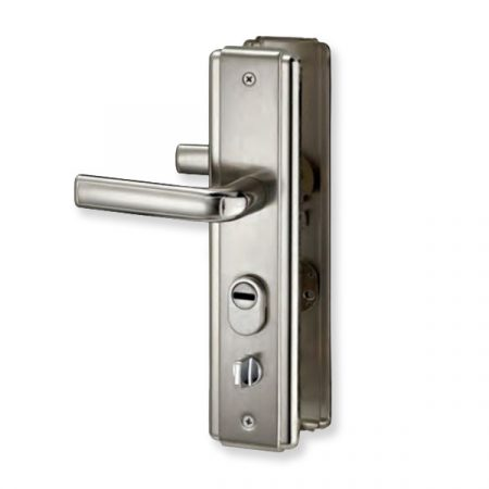 Exkluzív acél ajtó kilincs bal