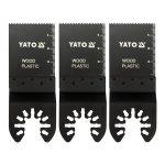 Yato YT-34685 Fűrészlap multifunkciós géphez 34 mm HCS (3db/cs)