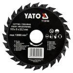 Yato YT-59160 fűrészlap sarokcsiszolóra 115mm