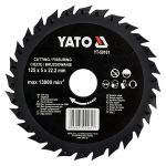Yato YT-59161 fűrészlap sarokcsiszolóra 125mm