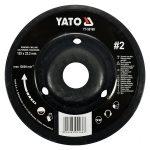 Yato YT-59169 rotációs ráspolykorong közepes #2 125mm yato