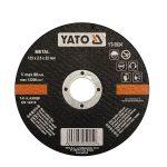 Yato YT-5924 Vágókorong fémre 125x2,5x22