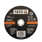 Yato YT-5926 Vágókorong fémre 180x2,5x22