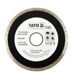 Yato YT-6015 Gyémánt vágótárcsa 230 mm folytonos