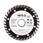 Yato YT-6024 Gyémánt vágótárcsa 180 turbo