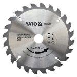 Yato YT-60480 fűrésztárcsa körfűrészre 160x24tx20mm