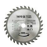 Yato YT-6053 Fűrésztárcsa fához 140/16/30