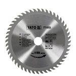 Yato YT-6058 Fűrésztárcsa fához 160/20/48