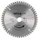 Yato YT-60905 fűrésztárcsa alumíniumhoz 160x52tx20 mm yato