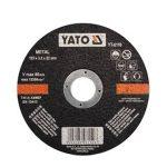 Yato YT-6110 Vágókorong fémre 125x3,2x22