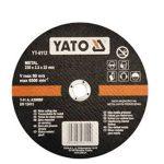 Yato YT-6112 Vágókorong fémre 230x3,2x22