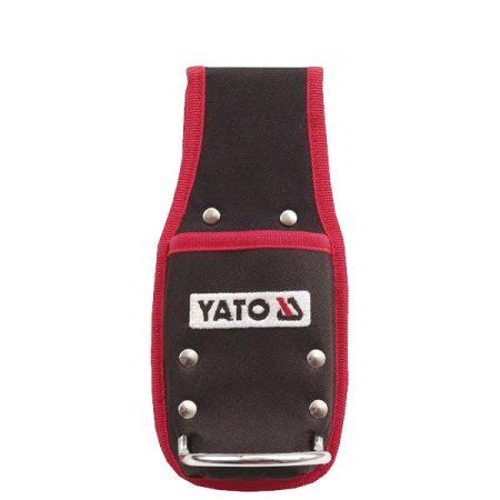 YATO szögtáska kalapácstartó horoggal övre fűzhető (YT-7419)