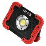 Yato YT-81820 akkus led reflektor 3,7 v yato