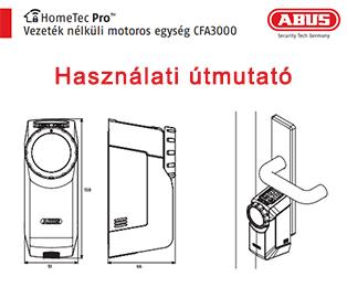 Abus HomeTec Pro CFA3000 használati utasítás
