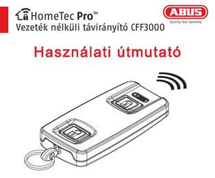 Abus HomeTec Pro elektromos távirányító